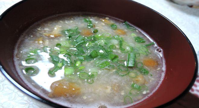 精力回復レシピ(納豆とナメコのとろろ汁)