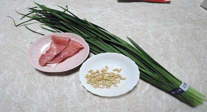 ニラ・松の実・豚肉の栄養価