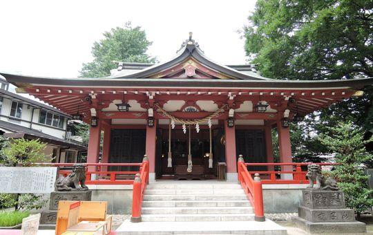 こしがやし)にある 香取神社 ...